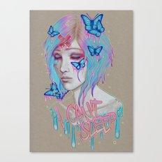 I Can't Sleep Canvas Print