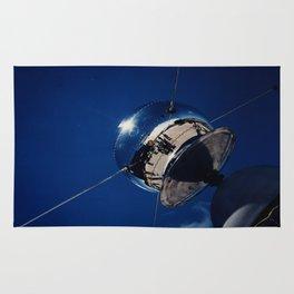 Project Vanguard Space Satellite Rug