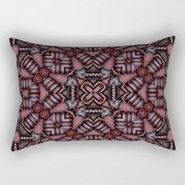 Victorian Art Deco Medieval Pattern SB16 Rectangular Pillow