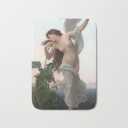 Dawn by William Adolphe Bouguereau (Nude Art) Bath Mat