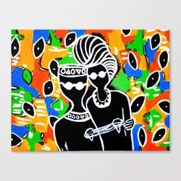 The Africa in You Canvas Print