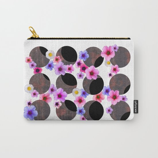 Spring Solar Eclipse 2015 Carry-All Pouch