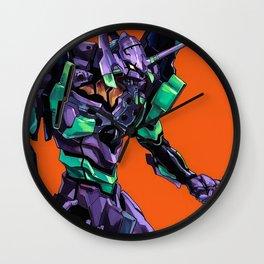 Evangelion Wall Clock