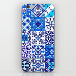 Moroccan Tile islamic pattern iPhone Skin