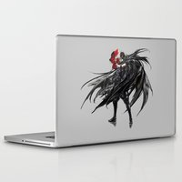 foo fighters Laptop & iPad Skins featuring King of Fighters Nameless by Prince Of Darkness
