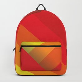 Stripes (red/orange/yellow) Backpack