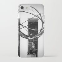 atlas iPhone & iPod Cases featuring Atlas by Jon Cain