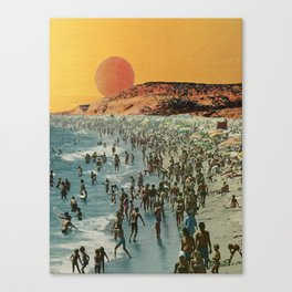 Riveria Sands Canvas Print