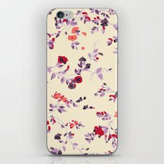 floral vines iPhone & iPod Skin