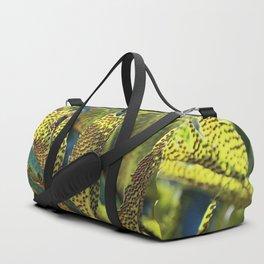 Summer invasion on leafs Duffle Bag