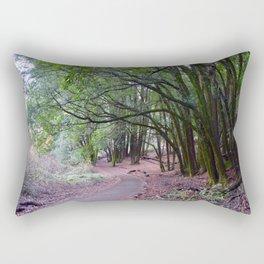 the mossy path Rectangular Pillow