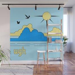 Ugh Wall Mural