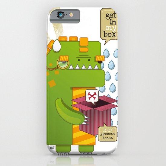 Godzilla get´s hungry!!! iPhone & iPod Case