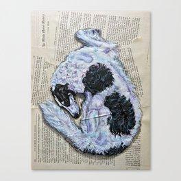 Veil of Shadows Canvas Print
