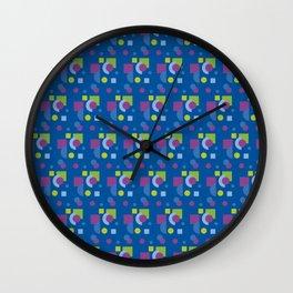 My modern geometric abstract 15 - pattern Wall Clock