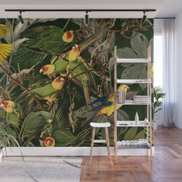 Floral and Birds XXXVI Wall Mural