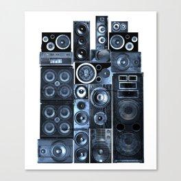 Music Speaker Sound Stack Canvas Print