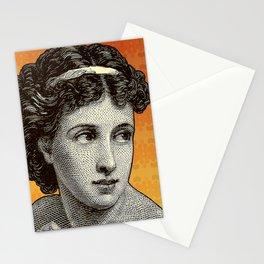 Seductress Orange Stationery Cards