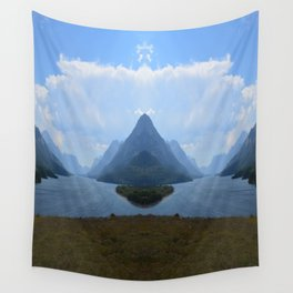 Mirrored Landscape Wall Tapestry