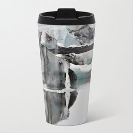 Ashy Glaciers. Travel Mug