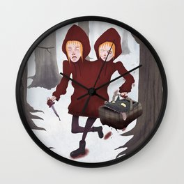 Red Riding Hoods Wall Clock
