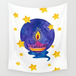Happy Diwali Wall Tapestry