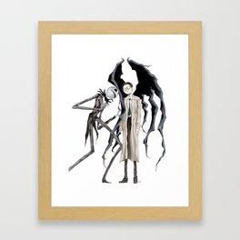 Jack and Castiel Framed Art Print
