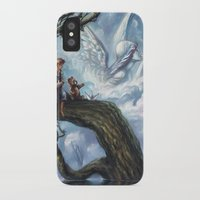 once upon a  time iPhone & iPod Cases featuring Once Upon A Time by muratturan