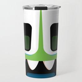 Bubble Beasts: Chilling Cucumber Body Scrub Travel Mug