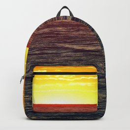 Paddle Boarding at Sunset Backpack