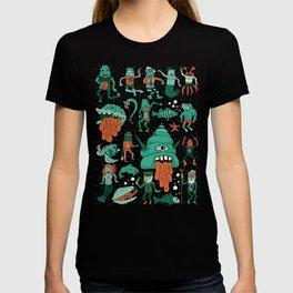 Wow! Creatures!  T-shirt