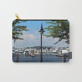 Riverfront Scene Carry-All Pouch