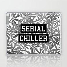 Serial Chiller B&W Laptop & iPad Skin