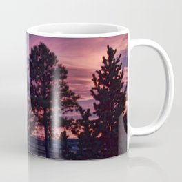 Behind The Sunset Coffee Mug