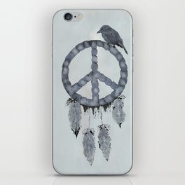 A dreamcatcher for peace iPhone Skin