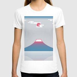 snow mountain 02 T-shirt