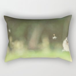 Make a wish Rectangular Pillow