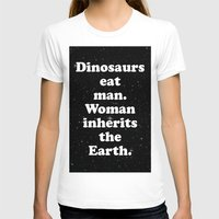 dinosaurs T-shirts featuring dinosaurs by MelleNora