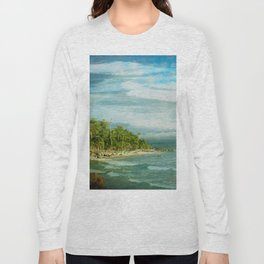 Tropical Surf Long Sleeve T-shirt