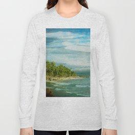 Tropical Surf Long Sleeve T-shirt