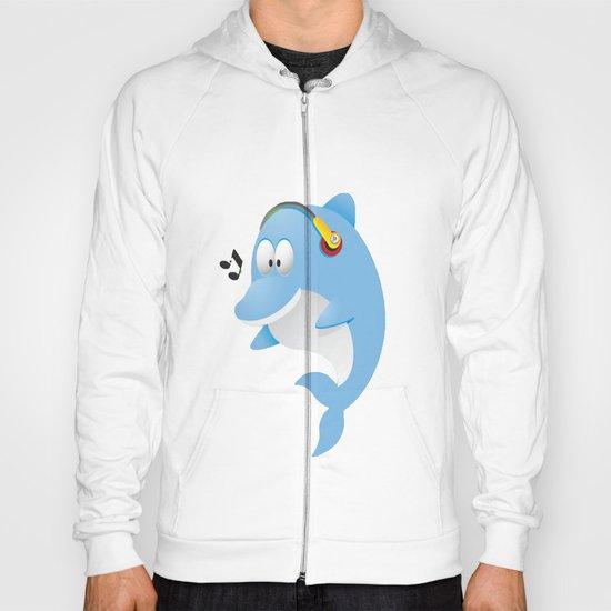 Cute dolphin Hoody