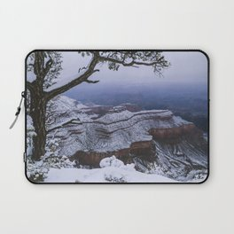 Snowy Grand Canyon Mesa Laptop Sleeve