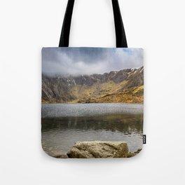 Lake Idwal Winter Tote Bag