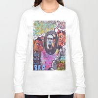 smiths Long Sleeve T-shirts featuring Art is Murder//The Smiths by Art By MOP$