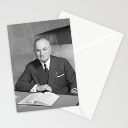 Harry S. Truman - Photo Portrait Stationery Cards