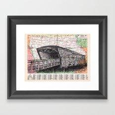 Iowa Framed Art Print