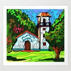 A chapel in Venezuela Art Print