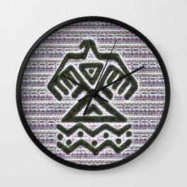 Standing Rock Wall Clock