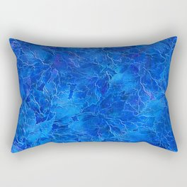 Frozen Leaves 6 Rectangular Pillow