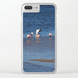 The Spoonbill Legend Lingers II Clear iPhone Case